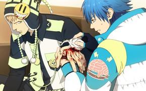 Картинка DRAMAtical Murder, Noiz, Seragaki Aoba
