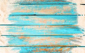 Обои песок, фон, доски, beach, vintage, wood, background, sand, marine