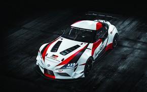 Картинка купе, Toyota, 2018, антикрыло, GR Supra Racing Concept