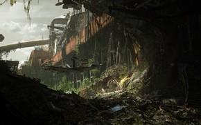 Картинка Descent, Server Dust, разрушиния