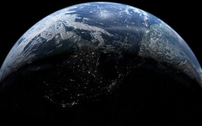 Картинка земля, планета, континенты