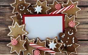 Картинка праздник, новый год, печенье, конфеты, christmas, декор, глазурь, candy, cookie