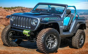 Обои Wrangler, 4speed, 2018, Concept, Jeep
