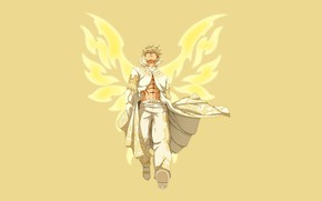 Картинка game, immortal, anime, wings, evil, asian, manga, japanese, Fairy Tail, oriental, asiatic, mahou, Zeref, 044, …
