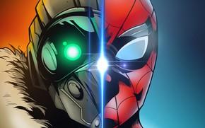 Картинка cinema, spider, man, boy, cartoon, Marvel, movie, Spider-man, hero, film, mask, Spiderman, Vulture, uniform, yuusha, ...