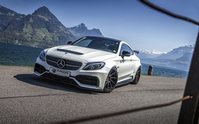 Картинка купе, Mercedes-Benz, Mercedes, суперкар, мерседес, AMG, Coupe, Prior-Design, C-Class, C205, PD65CC