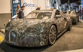 Картинка Bugatti Veyron, автосалон, Bugatti Veyron Replica