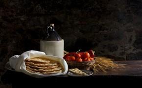 Картинка еда, tomatoes, crackers