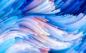 Обои background, rainbow, painting, colorful, abstract, splash, colors