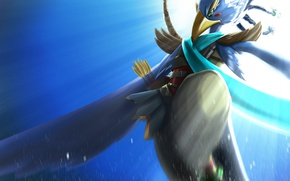 Картинка bird, bow, warrior, arrow, The Legend Of Zelda: Breath Of The Wild, The Legend Of …