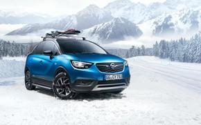 Картинка зима, Opel, Turbo, 2018, Accessorized, Crossland X