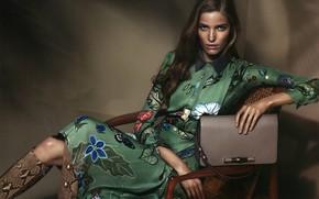 Картинка девушка, платье, сумка, Alisa Ahmann
