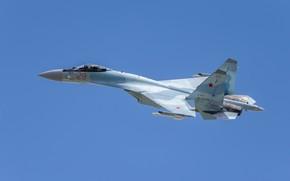 Картинка Су-35С, многоцелевой истребитель, ВВС России, SU-35S