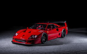 Обои Ferrari, F40, Hyperforged, AutoPlazaDank