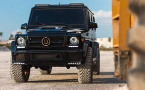 Картинка Mercedes, Brabus, AMG, Black, G63, Stones, W463, Career
