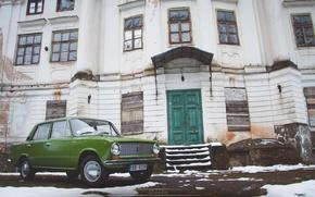 Картинка копейка, Green, зелёная, Латвия, Жигули, Sdmedia