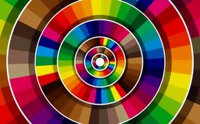 Картинка рисунок, текстура, картинка, цветовая гамма, разноцветные круги