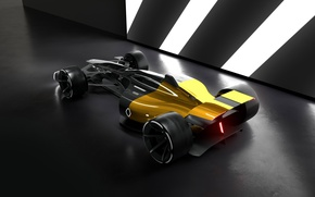 Картинка car, concept, Renault, sport, race, speed, Renault RS 2027 Vision