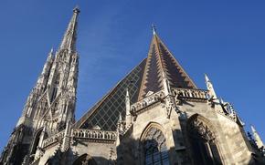 Картинка Австрия, Вена, Собор Святого Стефана, южная башня, Штефанплац