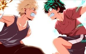 Картинка anime, power, fight, hero, manga, sensei, powerful, strong, yuusha, super hero, japonese, Boku no Hero …