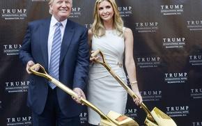 Картинка девушка, красивая, Президент, Usa, Сша, Ivanka Trump, Иванка Трамп, Donald John Trump, Дональд Трамп, До́нальд …