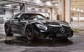 Картинка Mercedes-Benz, вид спереди, AMG, 2018, Edo Competition, GT R