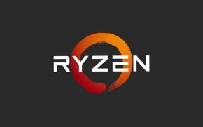 Обои AMD, Процессор, Ryzen