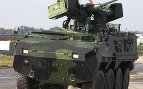 Картинка weapon, armored, military vehicle, armored vehicle, armed forces, military power, war materiel, 129