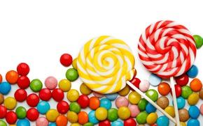 Обои colorful, конфеты, сладости, леденцы, sweet, candy, lollipop
