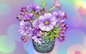 Картинка Grafika, kwiaty, Bukiet