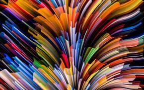 Картинка colors, colorful, abstract, rainbow, background, splash, painting