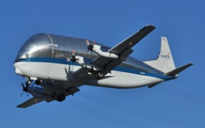 Картинка транспортный самолёт, Aero Spacelines, B-377