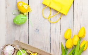 Картинка праздник, весна, пасха, тюльпаны, Easter, egg