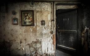 Картинка фон, комната, дверь