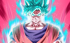 Картинка DBS, alien, anime, power, martial artist, God, warrior, manga, Son Goku, powerful, Dragon Ball, strong, …
