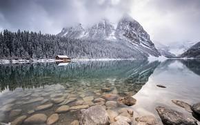 Картинка Alberta, Lake Louise, Canadà, First Snows