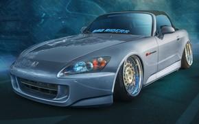 Картинка дизайн, Honda, S2000, спортивный автомобиль