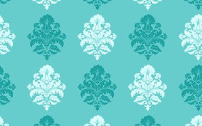 Обои pattern, damask, vector, background, classica, seamless
