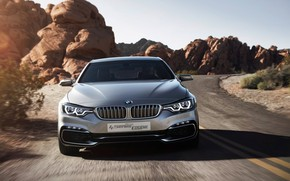 Обои Coupe, Concept, 4 Series, BMW