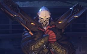 Картинка OVERWATCH, Halloween Terror, Reaper Dracula Character Skin