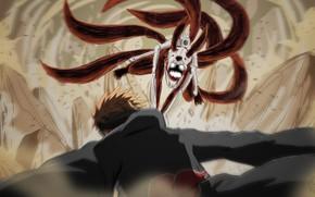 Картинка аниме, арт, парень, Наруто, Naruto, Наруто Узумаки