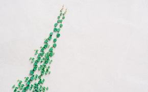 Картинка зелень, листья, стена, текстура, вьюн, штукатурка, плющ