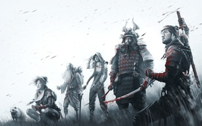Картинка Игры, Game, Background, Shadow Tactics: Blades of the Shogun