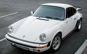 Картинка ретро, Porsche, классика, 911 SC