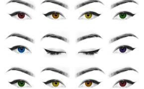 Картинка глаза, ресницы, брови