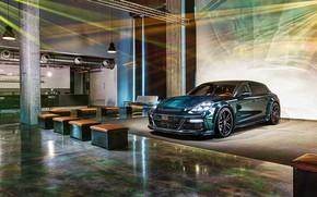 Картинка Porsche, Panamera, порше, панамера, гран туризмо, TechArt, Grand Turismo