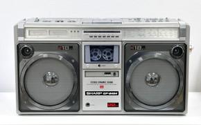Картинка стиль, магнитофон, Sharp, GF-9494X