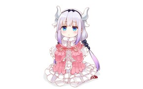 Картинка kawaii, anime, dragon, cute, japanese, horn, Miss Kobayashi's Dragon Maid