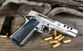 Картинка пистолет, оружие, gun, weapon, кастом, custom, M1911, М1911, Performace Center, Перфоманс Центр