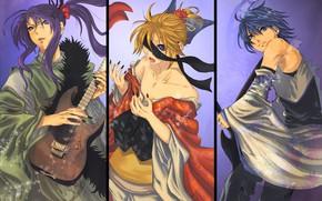 Картинка коллаж, Vocaloid, Вокалоид, персонажи